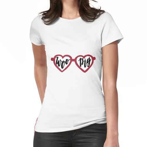 Woo Schweinegläser Frauen T-Shirt