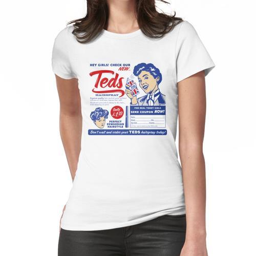 Teds Haarspray Farbe Frauen T-Shirt