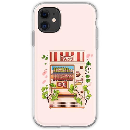 Ginkgo-Getränke Flexible Hülle für iPhone 11