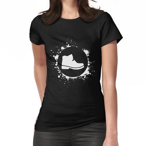 Wanderschuh Wandern Frauen T-Shirt