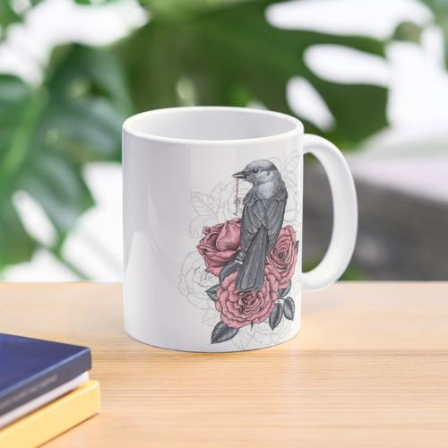 The bird with the silver key Mug