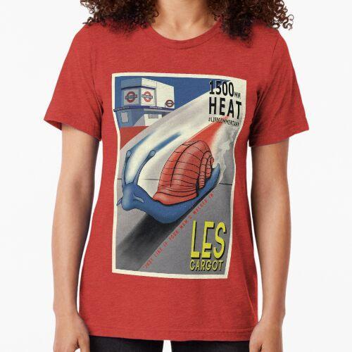 Les Cargot Tri-blend T-Shirt