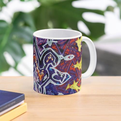 U2 - Zooropa - Waves Mug
