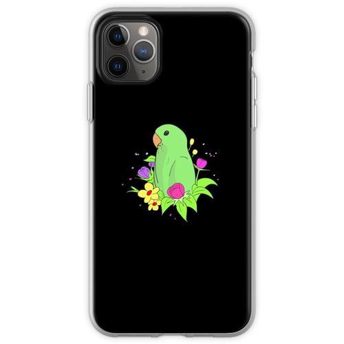 Zwerg Papagei Sperlingspapageien Unzertrennliche Flexible Hülle für iPhone 11 Pro Max