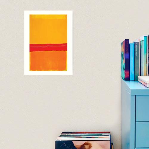 Mark Rothko   Nr. 5 / Nr. 22 Kunstdruck