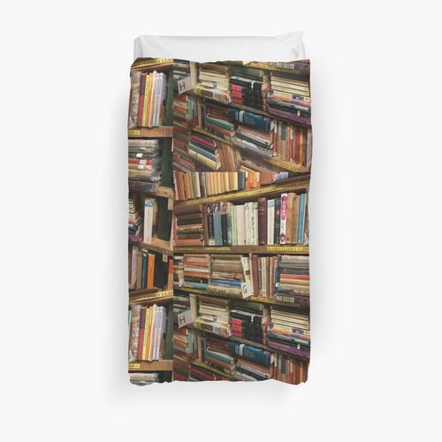 Books books books Duvet Cover