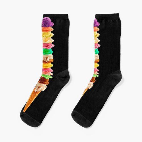 Eis-Stapel Socken