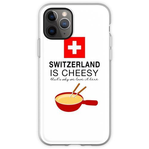 Schweizer Fondue Flexible Hülle für iPhone 11 Pro