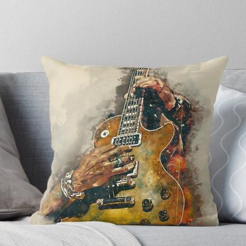 Slashs E-Gitarre Kissen