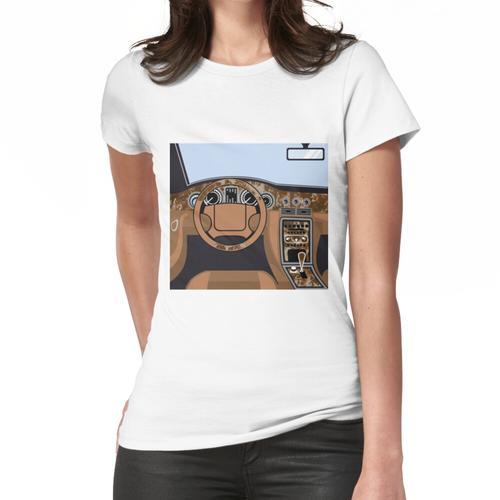 Car Interior Holzverkleidung Frauen T-Shirt
