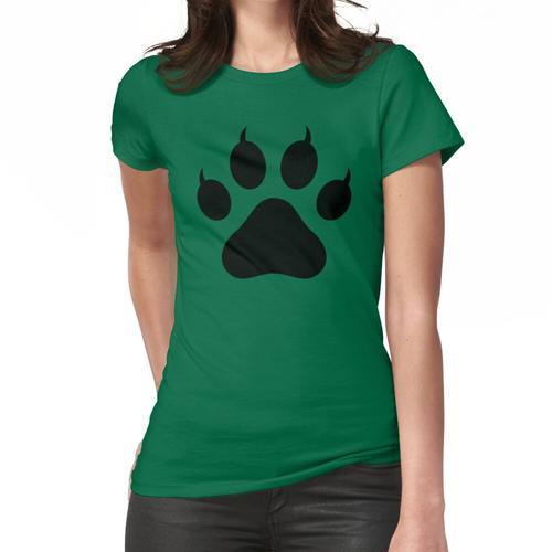 Tigerpfote Frauen T-Shirt