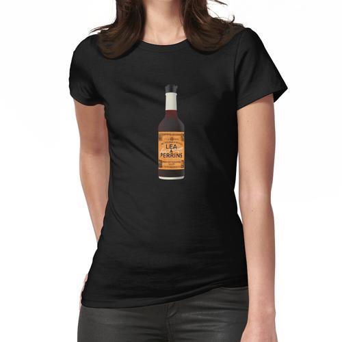 Lea & Perrins Worcestershire Saucenflasche Frauen T-Shirt
