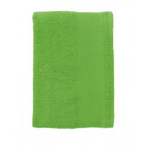 SOLS Badetuch Island, Handtuch, (100cm x 150 cm), (1 St.) grün Badetücher Handtücher