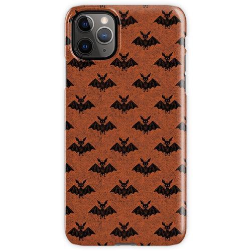 Fledermäuse Fledermäuse Fledermäuse (orange) iPhone 11 Pro Max Handyhülle
