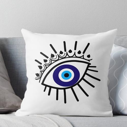 Der Evil Eye Fluchschutz Kissen