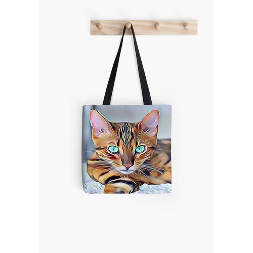 Die Bengalkatze Tasche