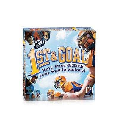 R&R Games 1st and Goal Football Board Game: Roll, Pass and Kick Your Way to Victory!