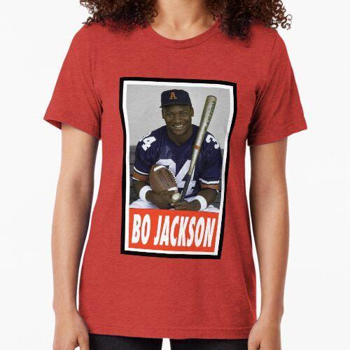 -SPORT- Bo Jackson Tri-blend T-Shirt