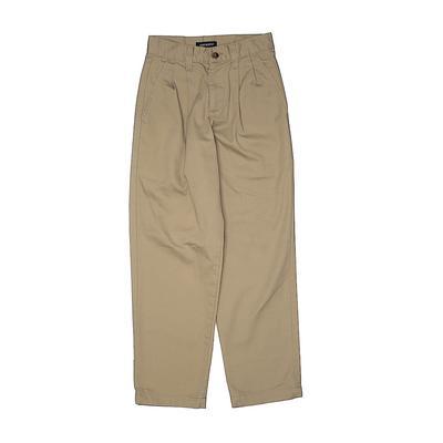 Dockers Khaki Pant: Tan Solid Bo...