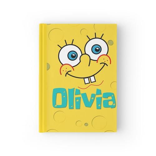 SpongeBob personalisierter Name Olivia Notizbuch