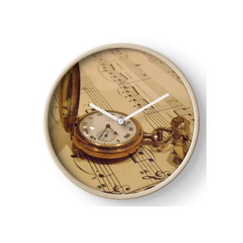 Zeitlose Musik Uhr