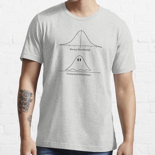 Normalverteilung, Paranormalverteilung Mathematik Geschenk Essential T-Shirt