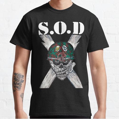 S.O.D (Sturmtruppen des Todes) Classic T-Shirt