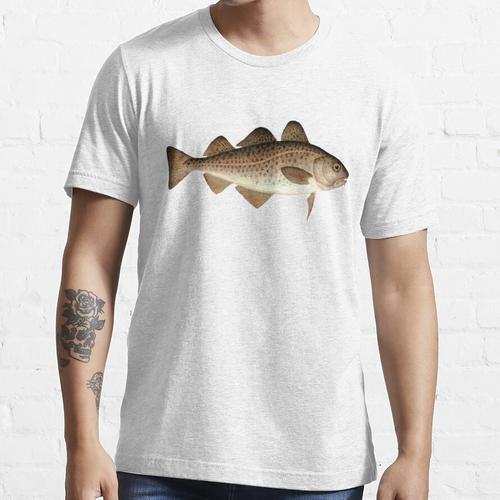 Kabeljau - Fische - Fischen - Kabeljau - Fischhemd - Anglerhemd - Kabeljau Essential T-Shirt