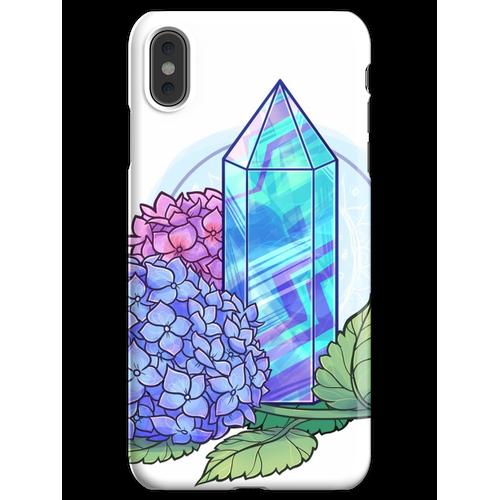Fluorit-Kristallturm iPhone XS Max Handyhülle