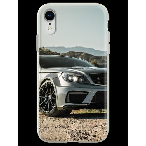 Wide Body Kompressor Mercedes-Benz C63 AMG Flexible Hülle für iPhone XR