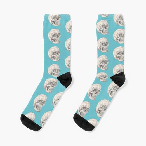 Schädelsocken Socken