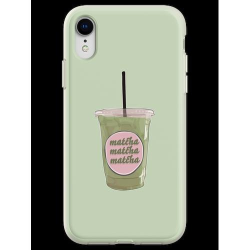 Iced Matcha Matcha Matcha Flexible Hülle für iPhone XR