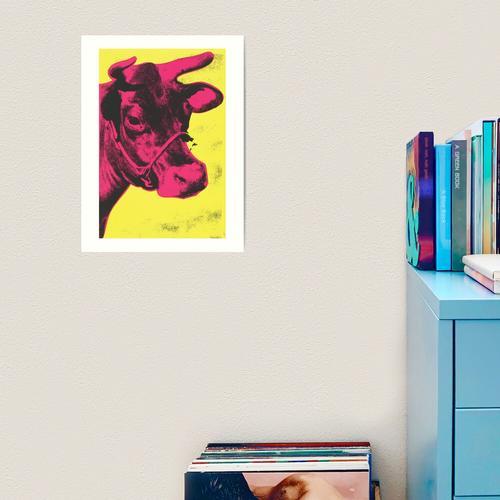 Andy Warhol   Kuh Kunstdruck