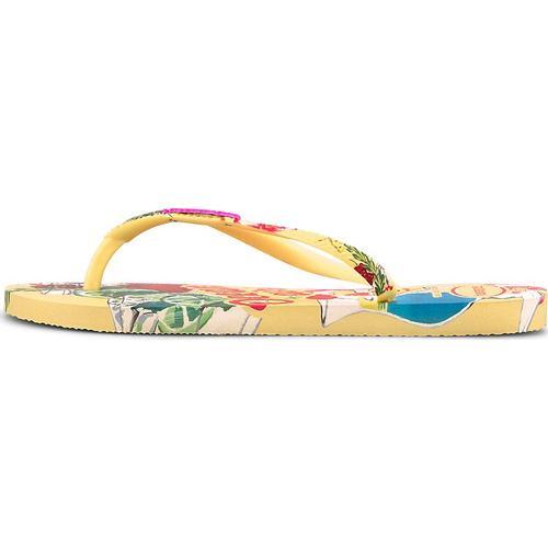 Havaianas, Sandale Havaianas Slim Summer in gelb, Sandalen für Damen Gr. 36