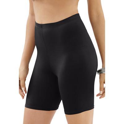 Plus Size Women's Swim Bike Short by Swim 365 in Black (Size 30)