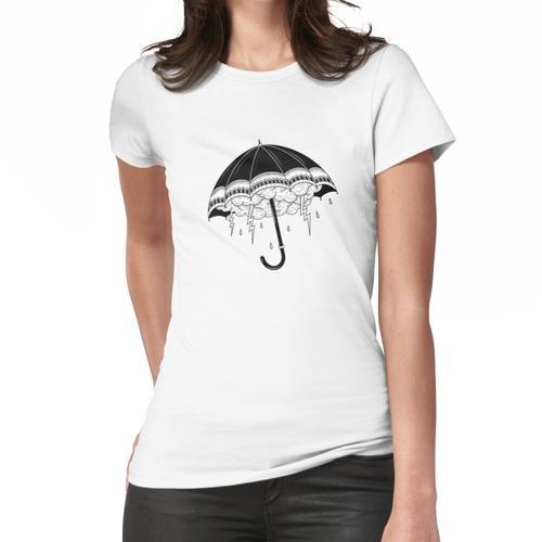Tattoo Regenschirm Frauen T-Shirt