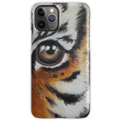 Auge des Babytigers iPhone 11 Pro Handyhülle