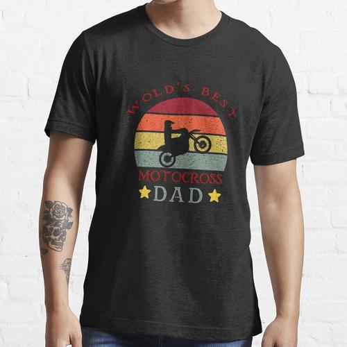 Motocross Dad, lustiger Motorrad Dad, lustiger Motocross Dad Essential T-Shirt