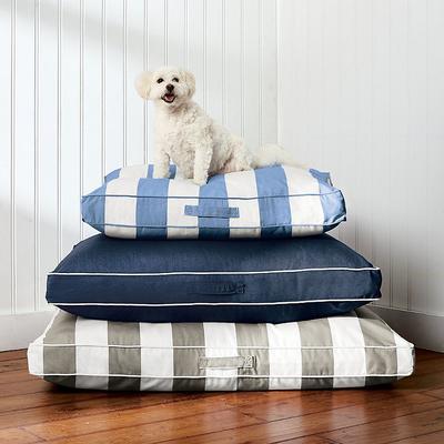 Resort Pet Bed - Resort Stripe Black, 34 x 26 - Frontgate