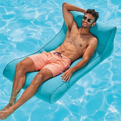 Drift Chaise Float - Blue - Frontgate