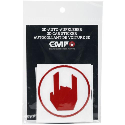EMP Special Collection 3er Set Autoaufkleber Aufkleber - schwarz rot weiß