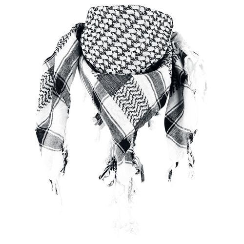 Rock Daddy Palästinenserschal Schal - weiß schwarz