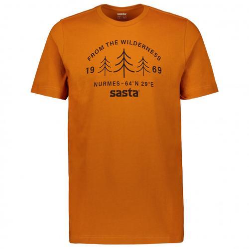 Sasta - Wilderness - T-Shirt Gr XL braun/orange