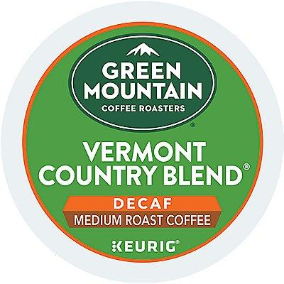 72 Ct Green Mountain Coffee Vermont Country Blend Decaf Coffee 72-Count (3 Boxes Of 24) K-Cup® Pods. Coffee