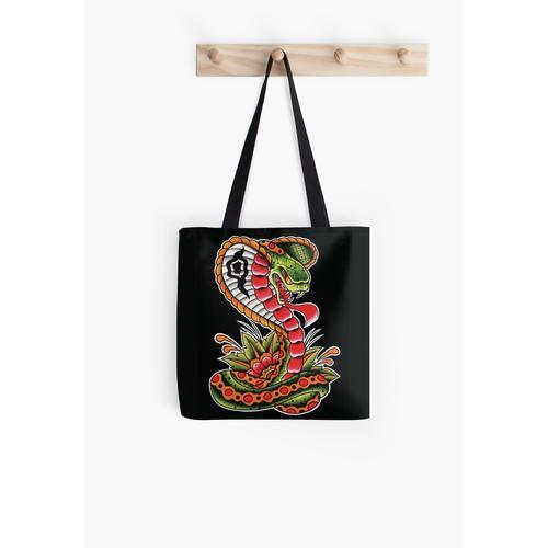 Traditionelle Cobra Tasche