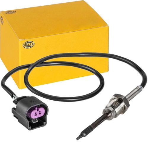 Hella Sensor Abgastemperatur 6pt 014 494-401 2-polig Sensor Abgastemperatur: General Motors: 12598444