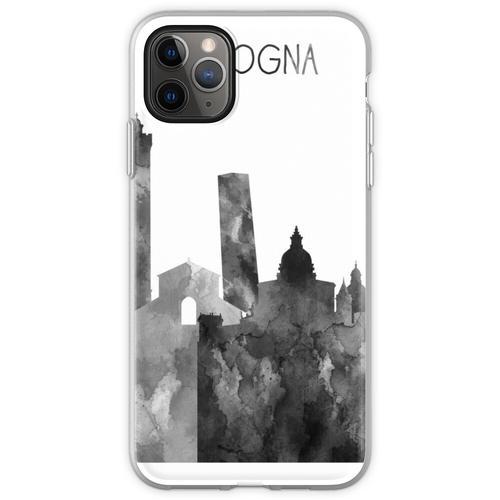 Bologna, Bologna Skyline, Aquarell Bologna Flexible Hülle für iPhone 11 Pro Max
