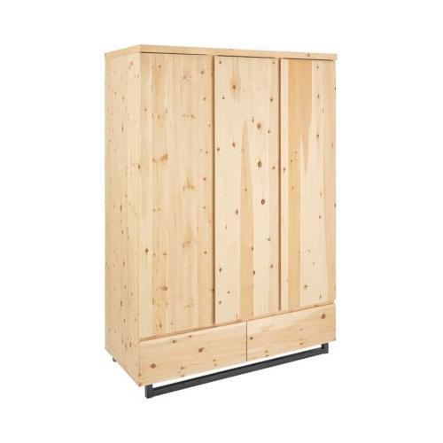 Kleiderschrank Zirbenholz, 3 Türen