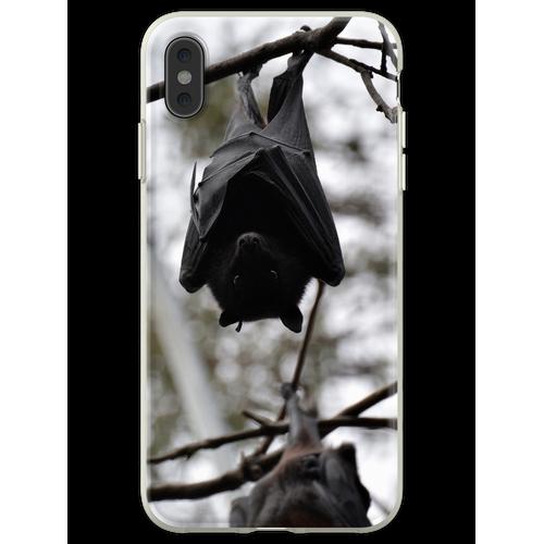 Fledermäuse, Fledermäuse, Fledermäuse Flexible Hülle für iPhone XS Max