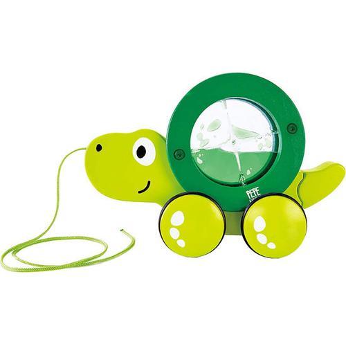 Nachzieh-Schildkröte, grün